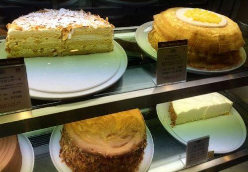 ハーブス マロンのケーキ2