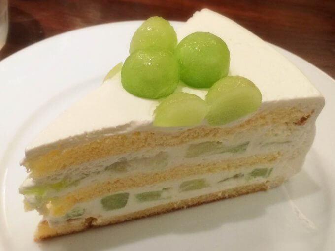 ハーブス メロンケーキ