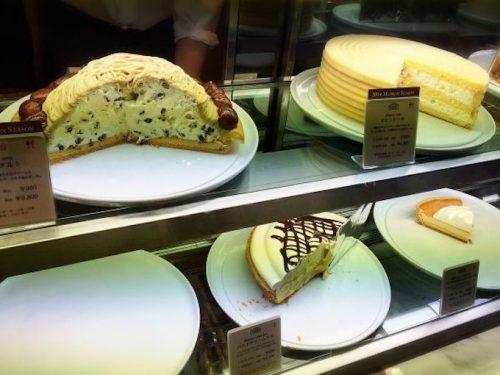 ハーブス マロンのケーキ