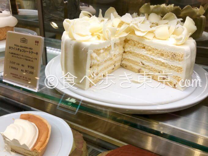 ハーブス ホワイトチョコレートケーキ