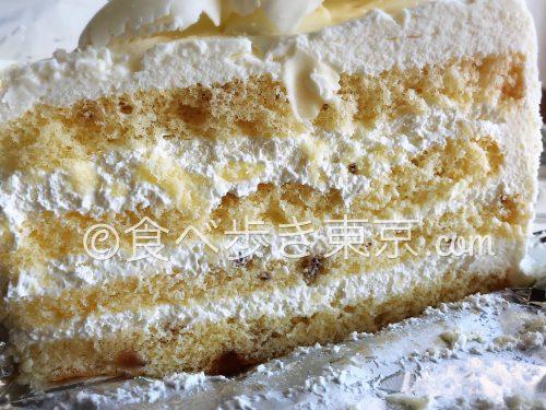 ハーブス ホワイトチョコレートケーキ(アップ)