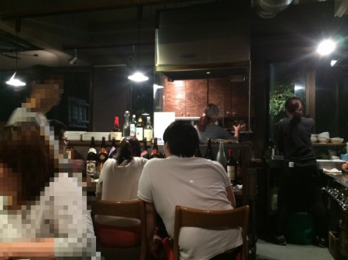 肉山 店内3