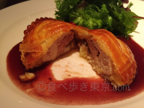 丸ビルレストラン「オザミトーキョー」のコース料理(スペシャリテ)