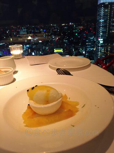 丸ビルレストラン「オザミトーキョー」のコース料理(デザート2)