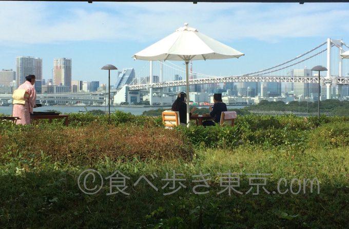 ヒルトン東京お台場内の日本料理店さくら