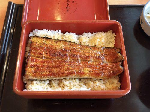 新宿タカシマヤのあささかふきぬき「うなぎ」