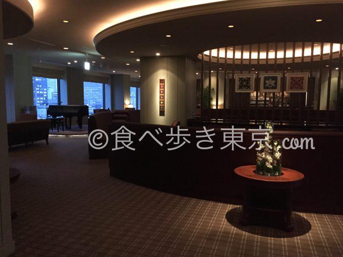 帝国ホテルのインペリアルラウンジ アクア