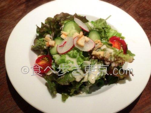ハーブスランチのサラダ