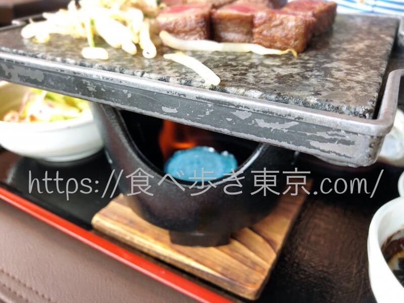 松阪牛「よし田」のステーキ御膳
