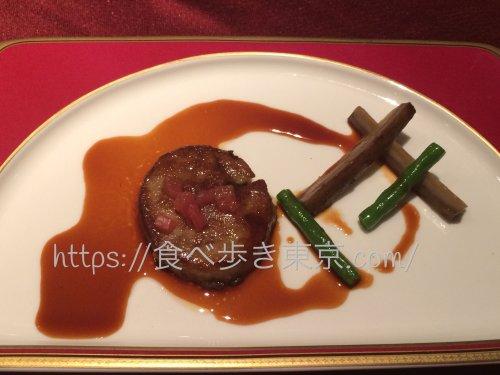 東京ベイ舞浜「カーニバル」で食べたコース料理のフォアグラ