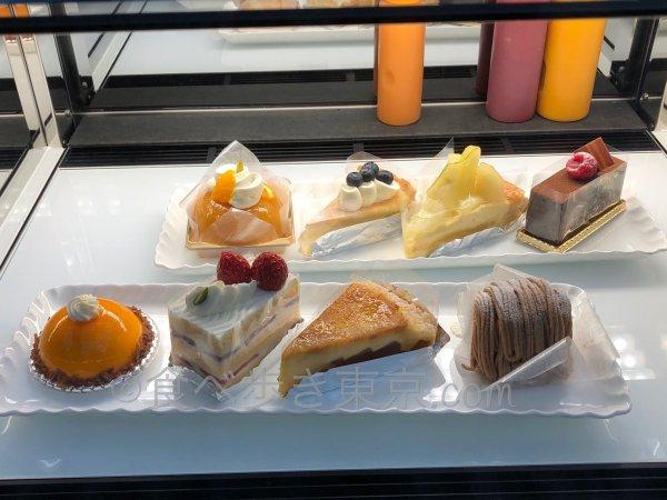 ホテル雅叙園東京カフェラウンジ「パンドラ」のケーキ