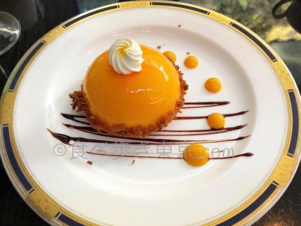 ホテル雅叙園東京「パンドラ」のケーキ、ガトーアプリコット