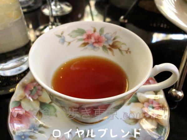 ホテル雅叙園東京パンドラのお茶「ロイヤルブレンド」